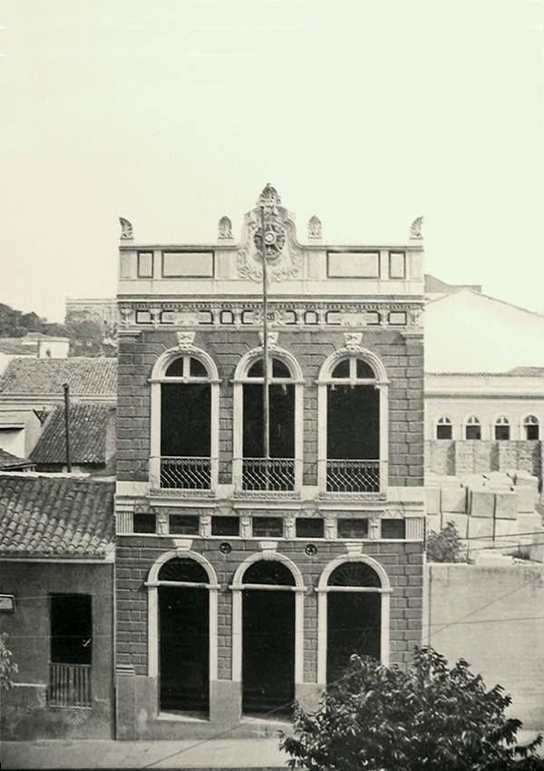 Primeiro edificação em que a Imprensa Oficial foi instalada